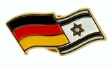 Israel-Germany flags pin