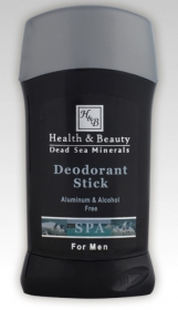 HB Dead Sea Mineral Deodorant Stick for Men by aJudaica