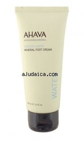 AHAVA Dead Sea Mineral Foot Cream by aJudaica