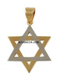 Metal Star of David pendant