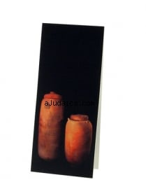 Magnetic Bookmark. Dead Sea Scroll Jars. 1st Century by aJudaica