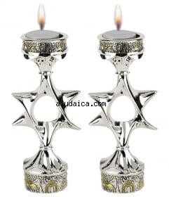 Jerusalem star candles