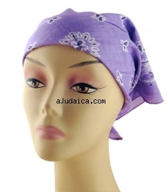 Womens Cotton Head Scarf  aJudaicacom Cotton Head Scarves Women