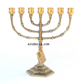 Seven Branch Menorah by aJudaica