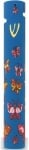 Butterfly wood and rubber mezuzah
