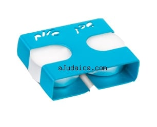 Adi Sidler Turquoise Travel Candlesticks by aJudaica