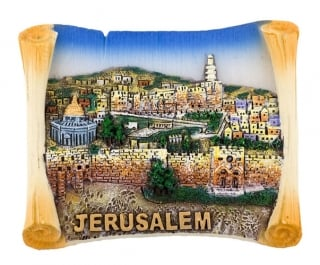 Old City Jerusalem Magnet