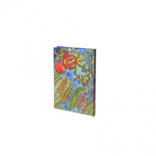 Hardcover Bound Notebook   Pomegranates by aJudaica