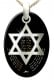 Ana Bekoach Star of David Jewish Pendant