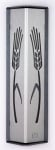 Silver Wheat Mezuzah Case by Shraga Landesman