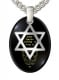 Shema Yisrael Star of David Pendant Silver