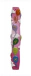 Alef Bet Baloons Girls Mezuzah