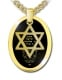 Gold Plated Shema Yisrael Star of David Pendant With First Verse