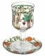 Painted-Wineglass-and-Saucer-Seven-Species-design