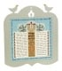 Prayer for The State of Israel Wall Plaque by Dorit