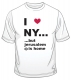 I Love NY But  T Shirt