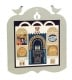 Laser Cut Jerusalem Wall Plaque by Dorit