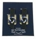 Star of David Tefillin Strap Clips