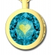 I Love You Pendant By Nano Gold Gold Plate