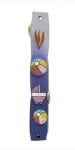 Girls Mezuzah With 3D Elements