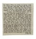 Standard Kosher Mezuzah Scroll Sefardi Version