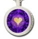 I Love You Pendant By Nano Gold Silver
