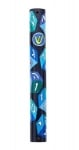 Boys Wood Alef Bet Mezuzah