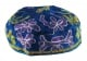 Blue Bucharian Hand Embroidered Kippah