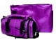 Bright Purple Tefillin Carrier with Tallit bag New