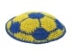 Soccer Ball knitted kippah