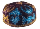 Brown Bucharian Hand Embroidered Kippah
