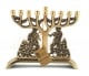 Fiddler on the Roof Brass Hanukkah Menorah