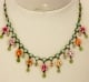 Floral Tassel Necklace by Orly Zeelon