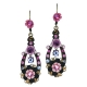 The Leaf Of Pink Earrings by Orly Zeelon