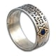 Travelers Prayer Jewish Ring by Golan Studio
