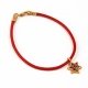 Bracelet with Thousand Flowers Star of David