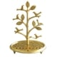 Tree with Birds Brass Hanukkah Menorah By Shraga Landesman