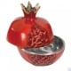 Aluminium-Red-Pomegranates-Honey-Dish-by-Yair-Emanuel