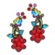 Vintage Branch Earrings by Israeli Jewelry Designer Orly Zeelon