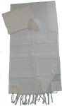 Gabrieli Cotton Tallit Set   White
