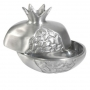 Aluminium Pomegranates Honey Dish by Yair Emanuel