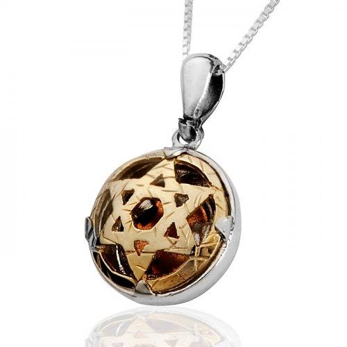 5 metals of david necklace by haari jewelry