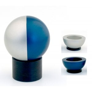 Agayof Aluminum Traveling Candlesticks Ball Series - Blue