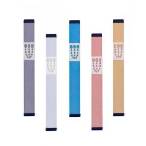 Large Dots Mezuzah By Agayof- Light Colors