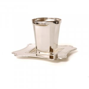 Kiddush Cup And Plate Modern design