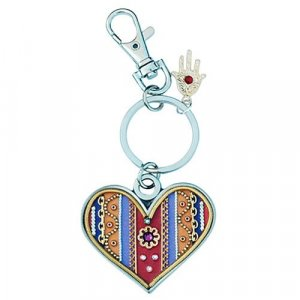 Heart Key Ring by Ester Shahaf