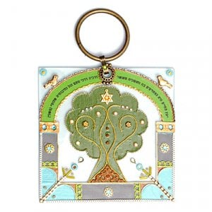 Tree of Life Wall Blessing by Ester Shahaf