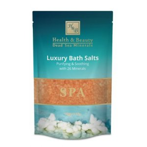 H&B Dead Sea Orange Bath Salts - Jasmine