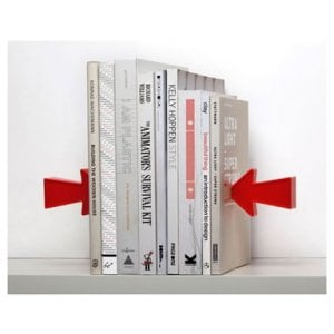 Arrows Bookend by Shahar Peleg