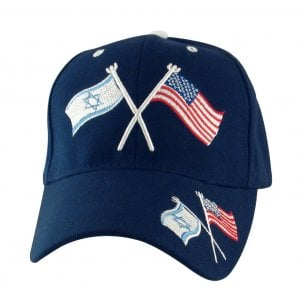 Israel-US Flag Navy Cap
